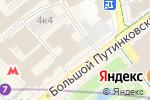 Схема проезда до компании Урюк в Москве