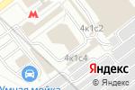 Схема проезда до компании Алена-Мебель в Москве