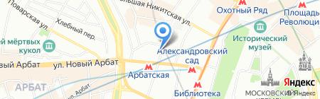 Запольский и партнеры на карте Москвы