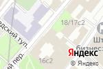 Схема проезда до компании Посольство Украины в г. Москве в Москве