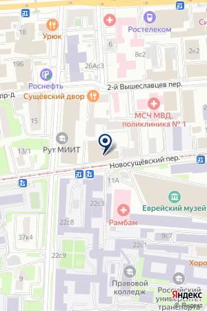 ДК МОСКОВСКИЙ ГОСУДАРСТВЕННЫЙ УНИВЕРСИТЕТ ПУТЕЙ СООБЩЕНИЯ на карте Москвы