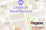 Схема проезда до компании РусГидро в Москве