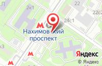 Схема проезда до компании Интернетдом в Москве