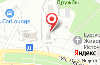 Схема проезда до компании Профи-М в Москве