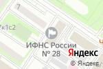 Схема проезда до компании МеталлСтройИнжиниринг в Москве