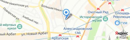 Королевский рацион на карте Москвы