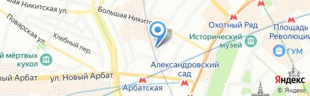 Максима на карте Москвы