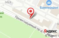 Схема проезда до компании Ладио в Москве