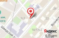 Схема проезда до компании Экспо-Лизинг в Москве