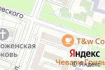 Схема проезда до компании Мон Мируар в Москве