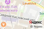Схема проезда до компании Интерс в Москве