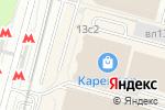 Схема проезда до компании Окна ДомКом в Москве
