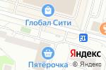 Схема проезда до компании Киоск по продаже кондитерских изделий в Москве