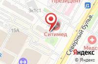 Схема проезда до компании Строй-Проект в Москве