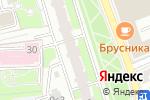 Схема проезда до компании Прион в Москве
