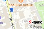 Схема проезда до компании К самолету в Москве