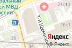 Схема проезда до компании БОТ Лизинг в Москве