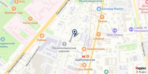 ПРЕДСТАВИТЕЛЬСТВО В МОСКВЕ ФАРМАЦЕВТИЧЕСКАЯ КОМПАНИЯ BOEHRINGER INGELHEIM PHARMA GMBH на карте Москве