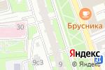 Схема проезда до компании Дельмедиа в Москве