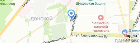 Studio Bellissima на карте Москвы