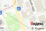 Схема проезда до компании LeForm в Москве
