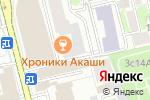 Схема проезда до компании Окнамедиа в Москве