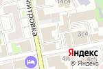 Схема проезда до компании Новая Линия в Москве