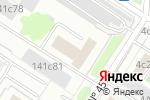 Схема проезда до компании Мир балкона в Москве