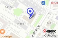 Схема проезда до компании ТФ ПОТ АГАТОН в Москве