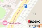Схема проезда до компании Меню тепла в Москве