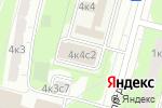 Схема проезда до компании Тренажерный зал в Москве
