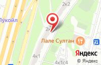 Схема проезда до компании Инновационный Центр «Владис» в Москве