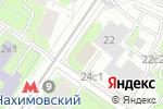 Схема проезда до компании Пожарная часть №52 в Москве