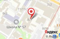 Схема проезда до компании ЭДлайн Маркетинг в Москве