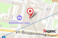 Схема проезда до компании Самсунг Электроникс Рус Компани в Москве