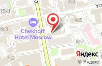 Схема проезда до компании Теоретическая Экономика в Москве