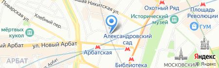 Центральная музыкальная школа на карте Москвы