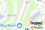 Схема проезда до компании Mira-Sound в Москве