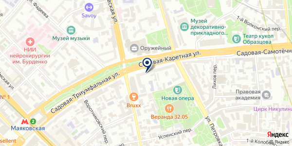 АМПРОДКО на карте Москве