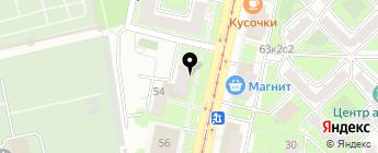Вандербильд М на карте Москвы