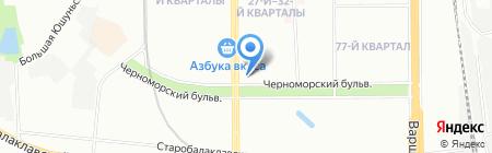 Стэлмаркет на карте Москвы