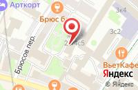 Схема проезда до компании Кинокомпания «Угличин и К» в Москве
