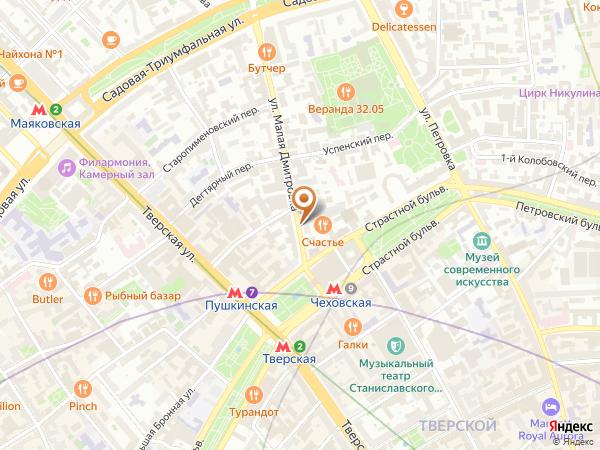 Остановка «Ул. М. Дмитровка», улица Малая Дмитровка (3375) (Москва)