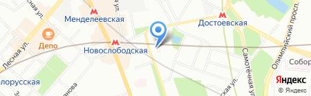 Можайская и партнеры на карте Москвы