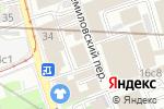 Схема проезда до компании Giper-Technik в Москве