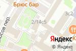 Схема проезда до компании Защитные игровые технологии в Москве