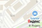 Схема проезда до компании Байциско в Москве