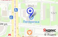 Схема проезда до компании ПТФ ФУТУРА-МЕБЕЛЬ в Москве