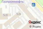 Схема проезда до компании Консенсус в Москве