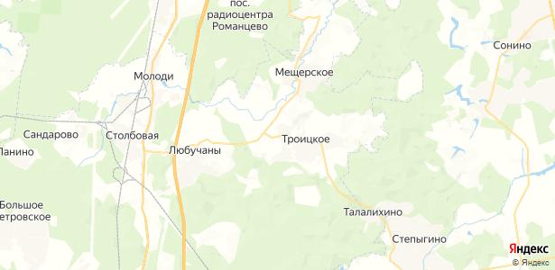 Зыкеево на карте